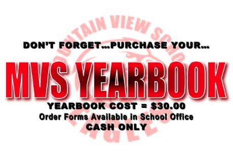 MVS Yearbook - $30