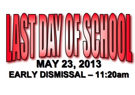 Last Day of School 5/23/13